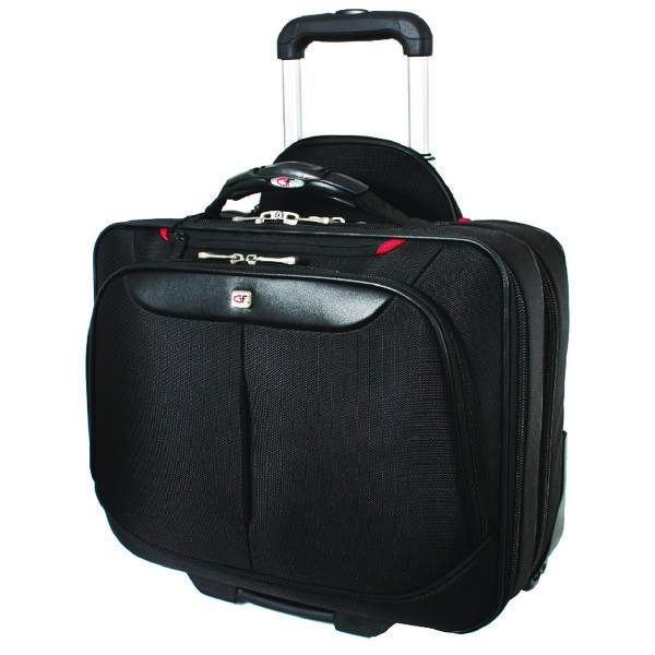 Gino Ferrari Brooklyn Wheeled Laptop Case Black GF565