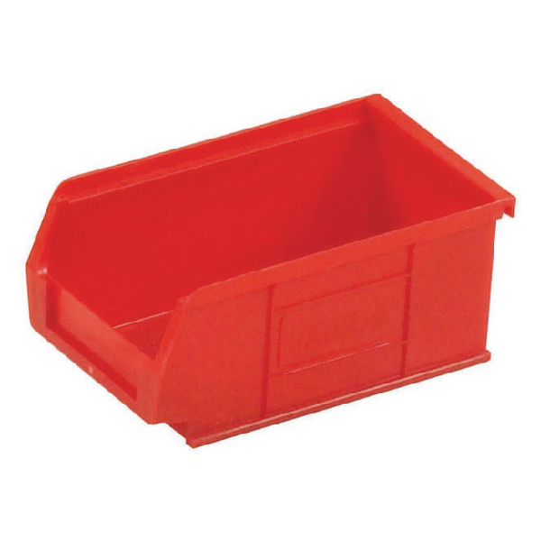 Image for Barton Tc2 Small Parts Container Semi-Open Front Red 1.27L 165X100X75mm (Pack of 20) 010022