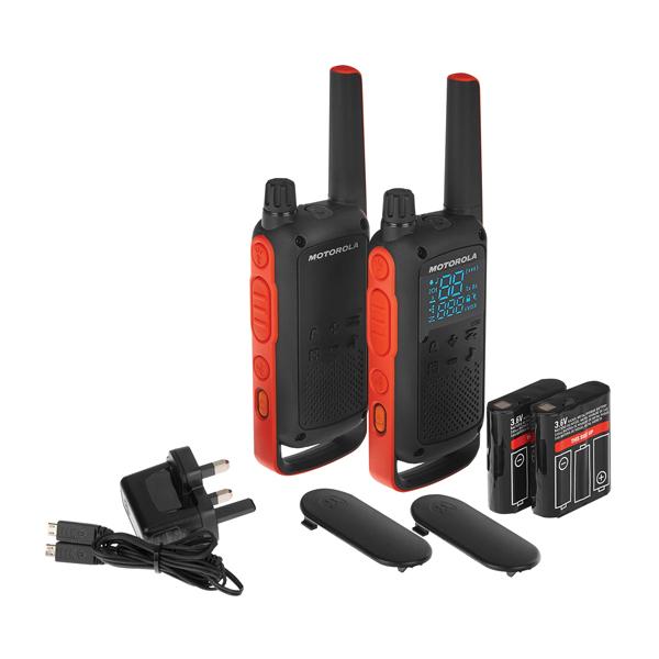 Image for Motorola T82 Twin Pack BP00810EDRMAW (0)
