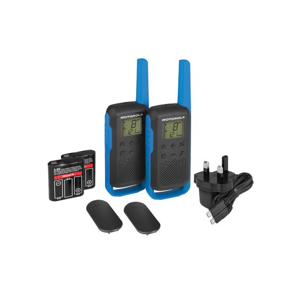 Image for Motorola T62 Twin Pack BP00810LDRMAW (0)