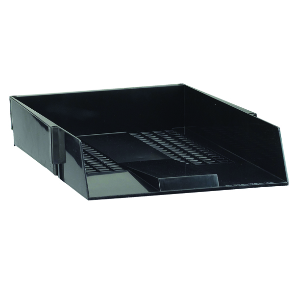Avery Original Black A4 Plastic Letter Tray 44CHAR