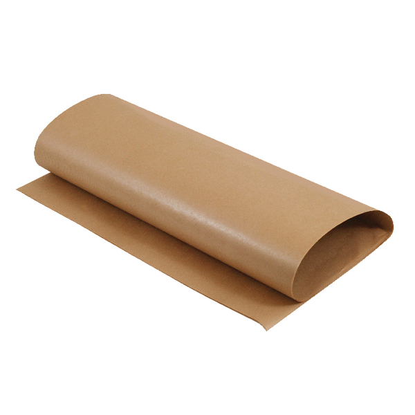 MyCafe Scotchban Greaseproof Paper Sheets 450x700mm 40gsm Brown (Pack of 480) 101102