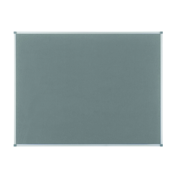 Nobo Classic Felt Noticeboard 900x600mm Grey 1900911