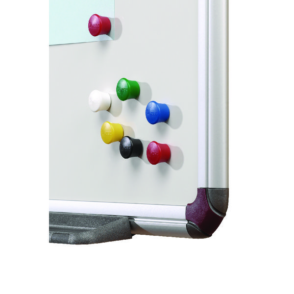 Nobo Magnetic Drawing Pin Asstd Pk12