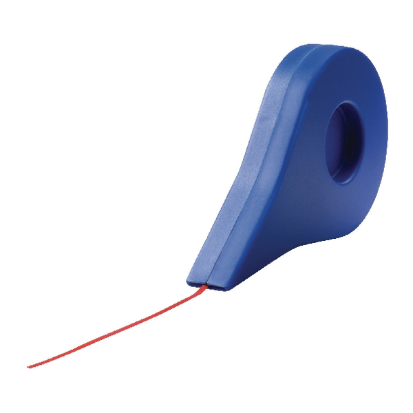 Nobo Self-Adhesive Gridding Tape 1.5mmx10m Red 1901119