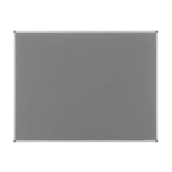 Nobo Classic Felt Noticeboard 1800x1200mm Grey 1900913