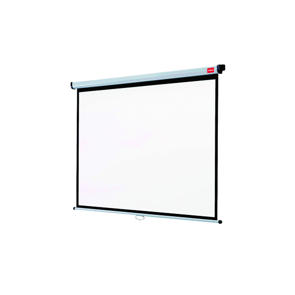 Nobo 4:3 Wall Mounted Projection Screen 1750x1325mm 1902392