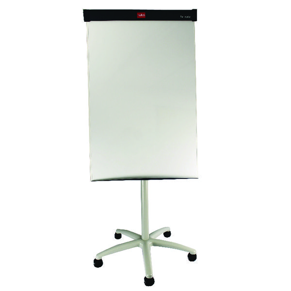 Nobo Classic Nano CleanMagnetic Mobile Easel Steel Height-adjustable 5 Castors W700xH1000mm Ref 1902386 24435