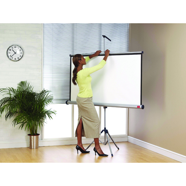 Image for Nobo 86 inch Tripod Projection Screen
