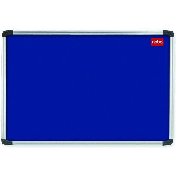 Nobo Euro Plus Felt Noticeboard 900x600mm Blue 30230174