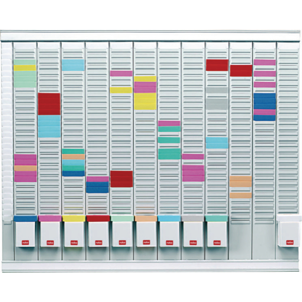 Nobo 12 T-Card Panel Maxi Office Planning Kit 800x730mm 32938864