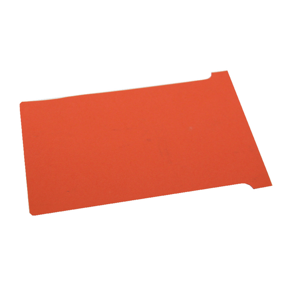 Nobo T-Card Size 3 Red (Pack of 100) 32938917