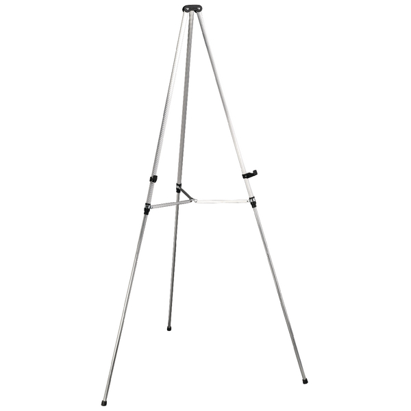 Image for Nobo Aluminium Grey Telescopic Display Easel Q50E