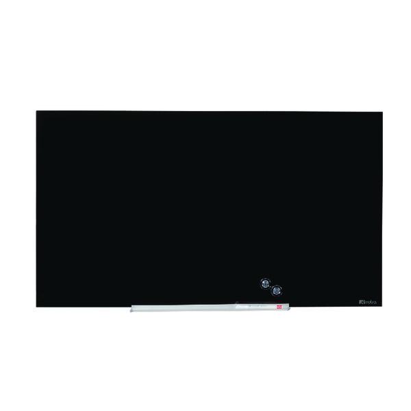 Nobo Widescreen Glass Whiteboard 45 inch Black 1905180