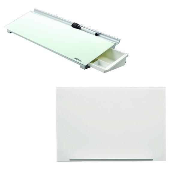 Image for Nobo Diamond Glass 1883x1053mm FOC Desktop Panel