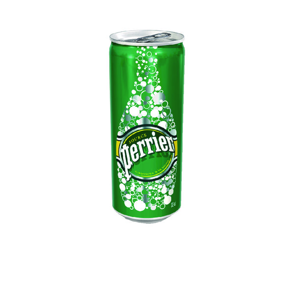 Perrier Sparkling Water 33cl Can (Pack of 24) 11648958