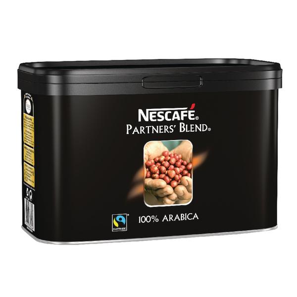 Nescafe Fairtrade Partners Blend Coffee 500g Catering Tin 12284226