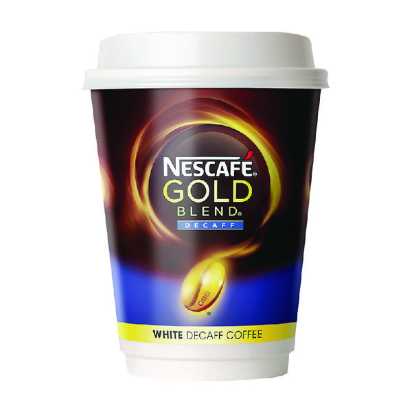 Nescafe & Go White Decaffeinated Coffee (Pack of 8) 12368080