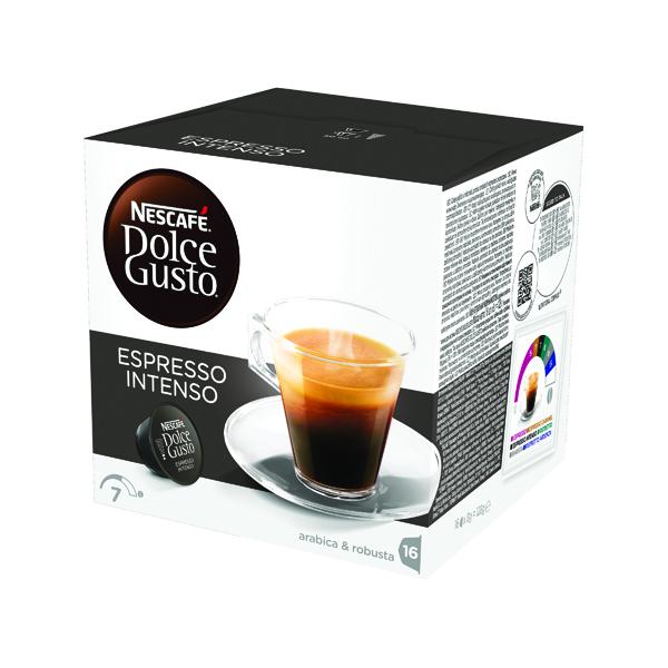 Nescafe Dolce Gusto Espresso Intenso Capsules (Pack of 48) 12048955