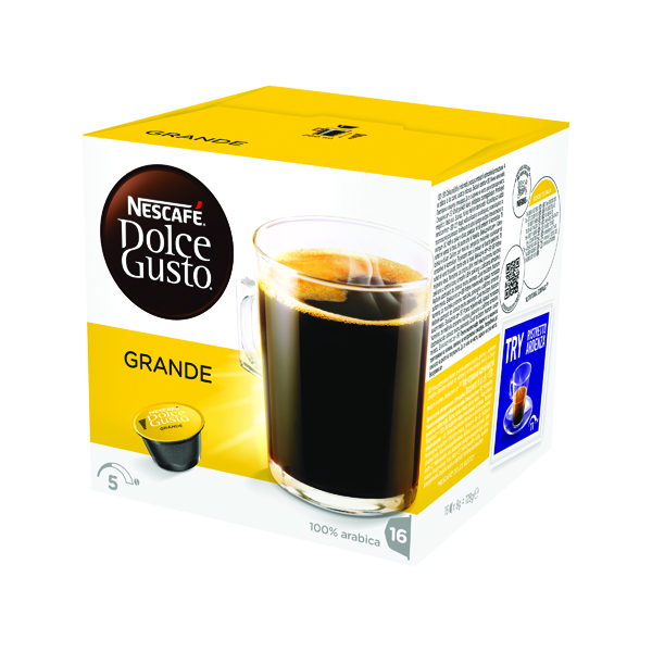 Nescafe Dolce Gusto Grande Capsules (Pack of 48) 12181434