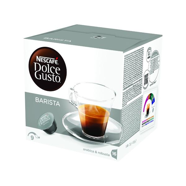 Nescafe Dolce Gusto Espresso Barista Capsules (Pack of 48) 12178386