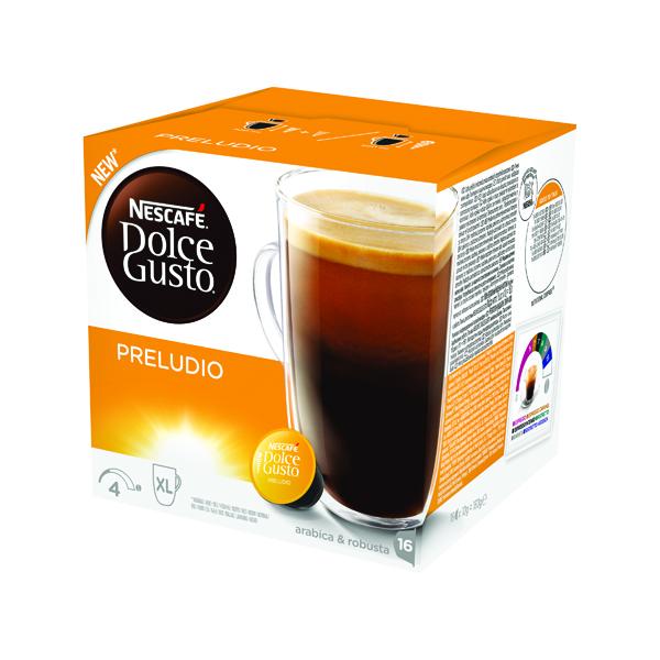 Nescafe Dolce Gusto Preludio Capsules (Pack of 48) 12320192