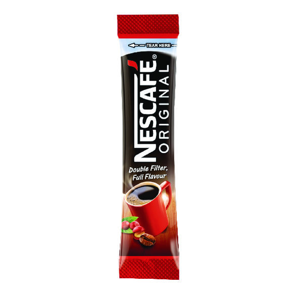 Nescafe Original One Cup Instant Coffee Sticks (Pack 200)