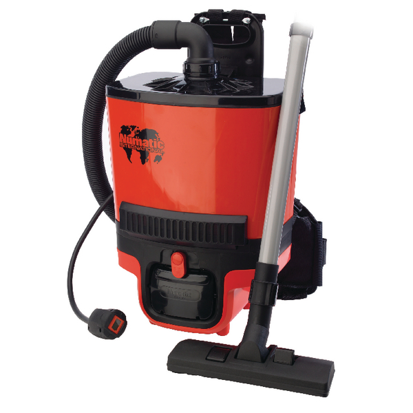 Numatic Red RucSac Backpack Vacuum Cleaner RSB.140