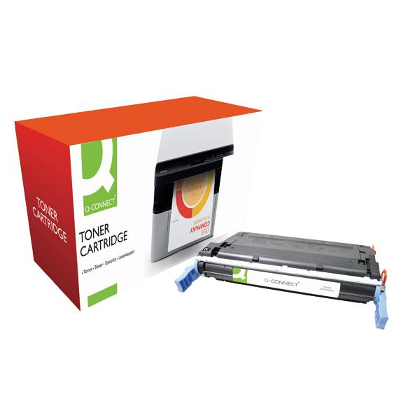 Q-Connect HP 641A Remanufactured Black Laserjet Toner Cartridge C9720A