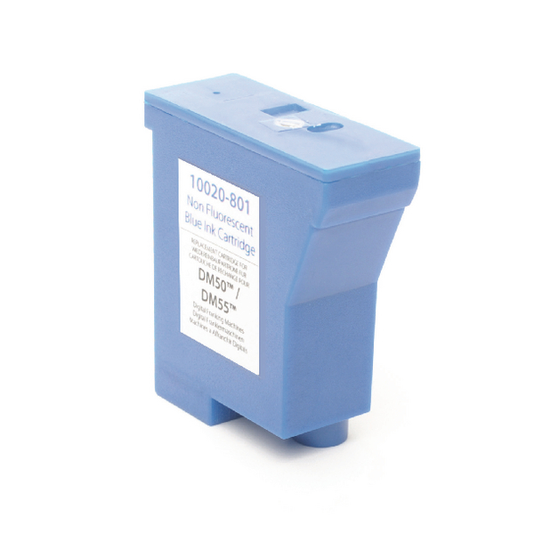Image for Q-Connect Pitney Bowes Remanufactured DM50/55/700/21 Franking Ink Blue K780003