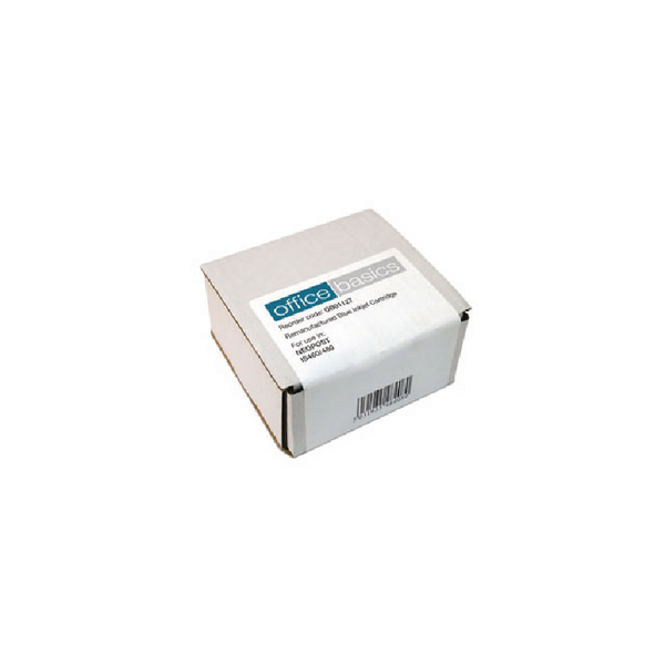 Q-Connect Neopost Remanufactured Blue Franking Ink Cartridge High Yield 300621
