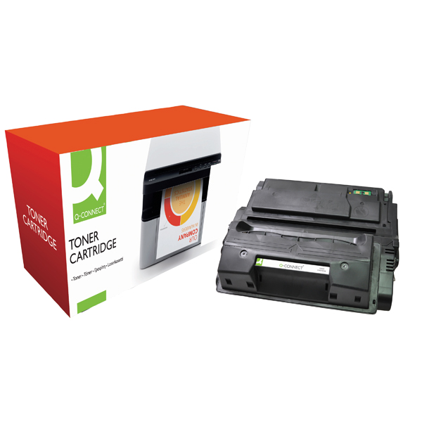 Q-Connect Compatible Solution HP 39A Black Laserjet Toner Cartridge Q1339A