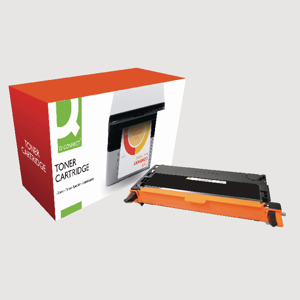 Q-Connect Dell Remanufactured Black Toner Cartridge High Yield 593-10170