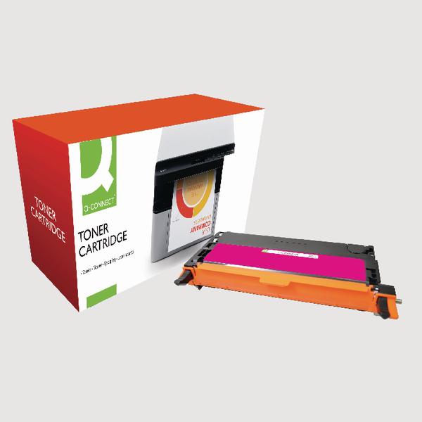 Q-Connect Dell Remanufactured Magenta Toner Cartridge High Capacity 593-10172