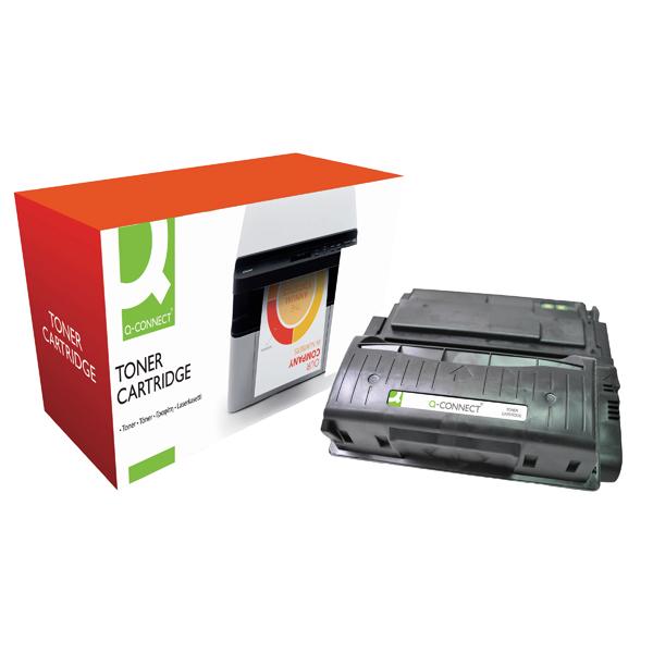 Q-Connect Compatible Solution HP 42X Black Laserjet Toner Cartridge High Capacity Q5942X
