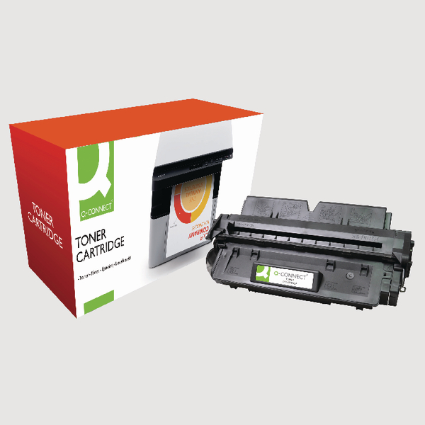 Image for Q-Connect Canon FX7 Remanufactured Black Toner Cartridge 7621A002