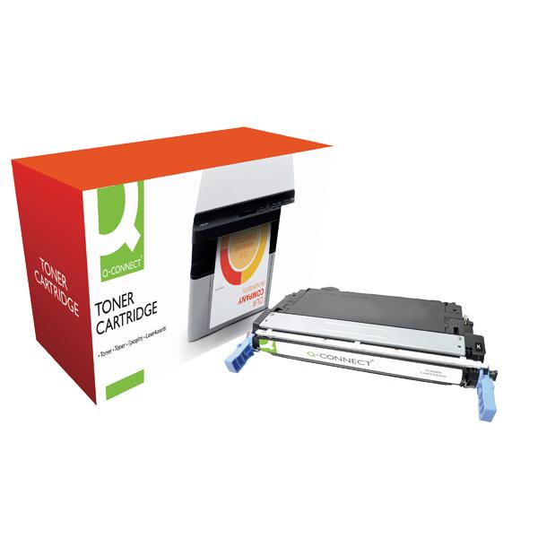 Q-Connect HP 643A Remanufactured Black Laserjet Toner Cartridge Q5950A