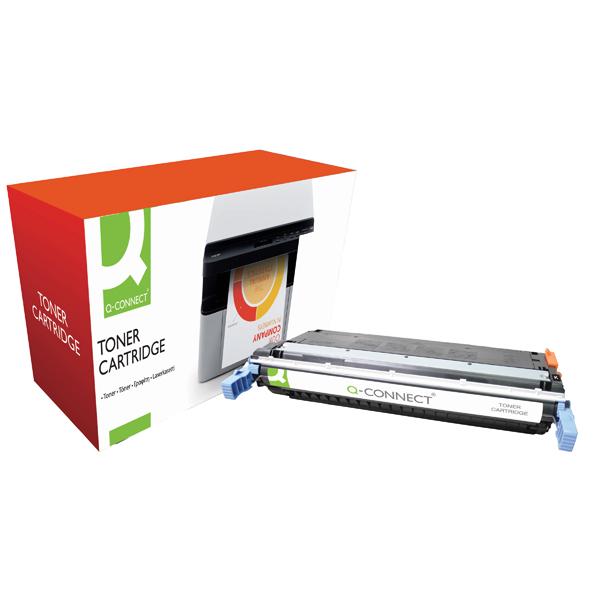 Q-Connect HP 645A Remanufactured Black Laserjet Toner Cartridge C9730A