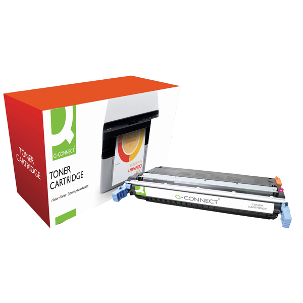 Q-Connect HP 645A Remanufactured Magenta Laserjet Toner Cartridge C9733A