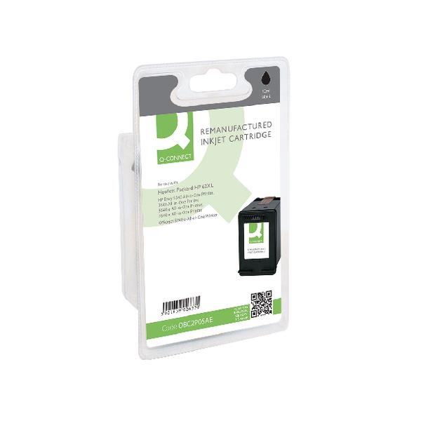 Q-Connect HP 62XL Inkjet Black Cartridge C2P05AE