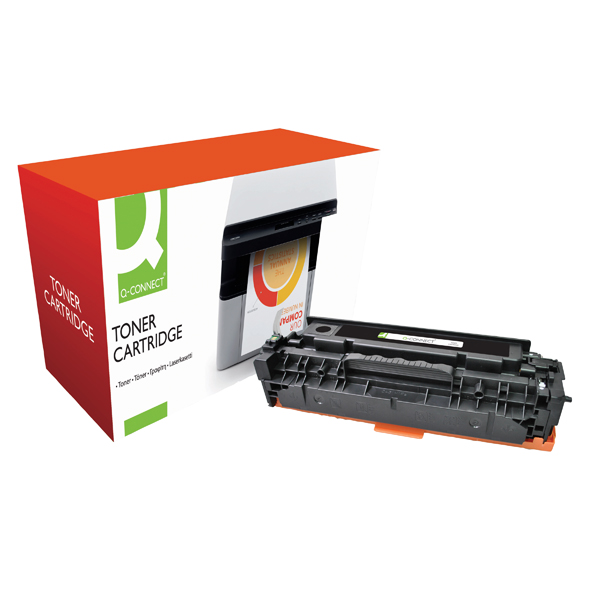 Q-Connect Compatible Solution HP 304A Black Laserjet Toner Cartridge CC530A