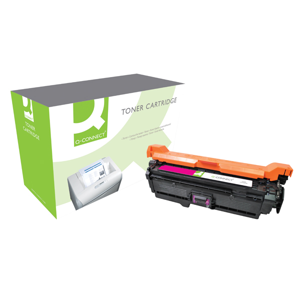 Q-Connect Compatible Solution HP 504A Magenta Laserjet Toner Cartridge CE253A