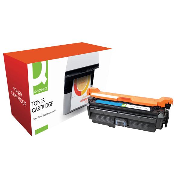 Q-Connect Compatible Solution HP 648A Cyan Laserjet Toner Cartridge CE261A