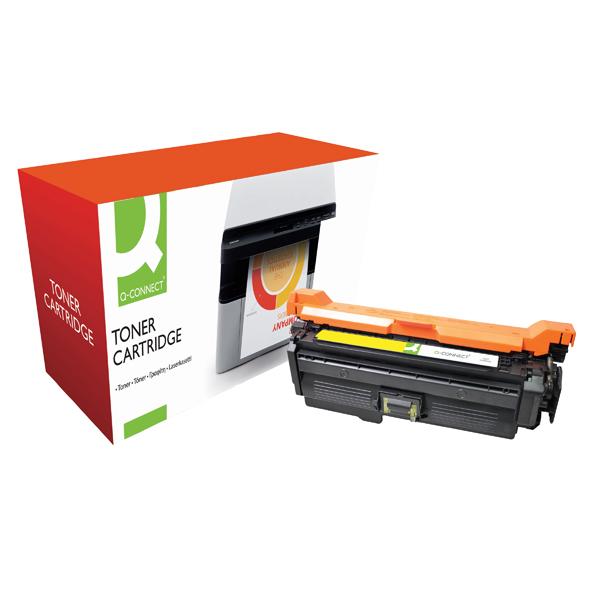 Q-Connect Compatible Solution HP 648A Yellow Laserjet Toner Cartridge CE262A