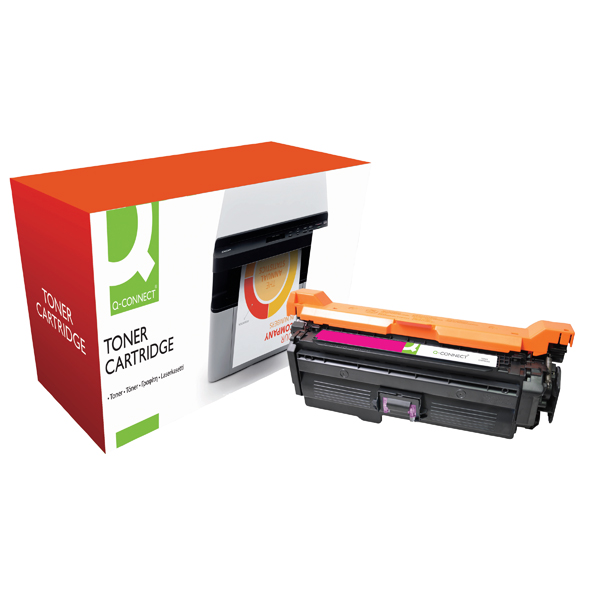 Q-Connect Compatible Solution HP 648A Magenta Laserjet Toner Cartridge CE263A