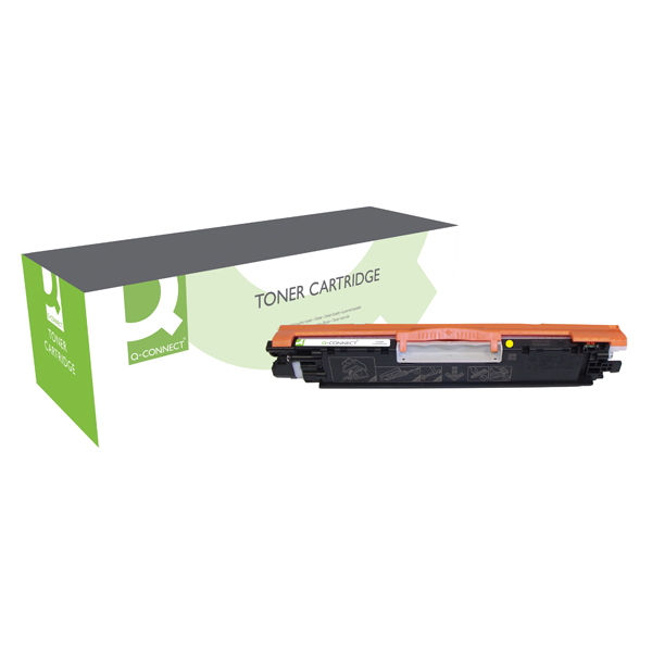 Q-Connect Compatible Solution HP 126A Yellow Laserjet Toner Cartridge CE312A