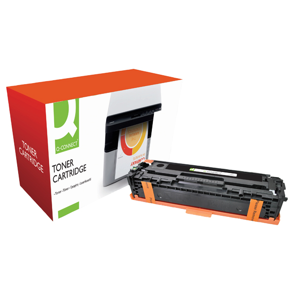 Q-Connect Compatible Solution HP 128A Black Laserjet Toner Cartridge CE320A