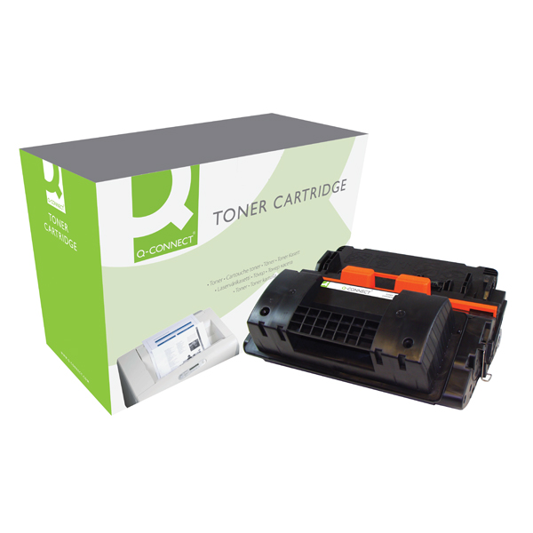 Q-Connect Compatible Solution HP 90X Black Laserjet Toner Cartridge High Capacity CE390X