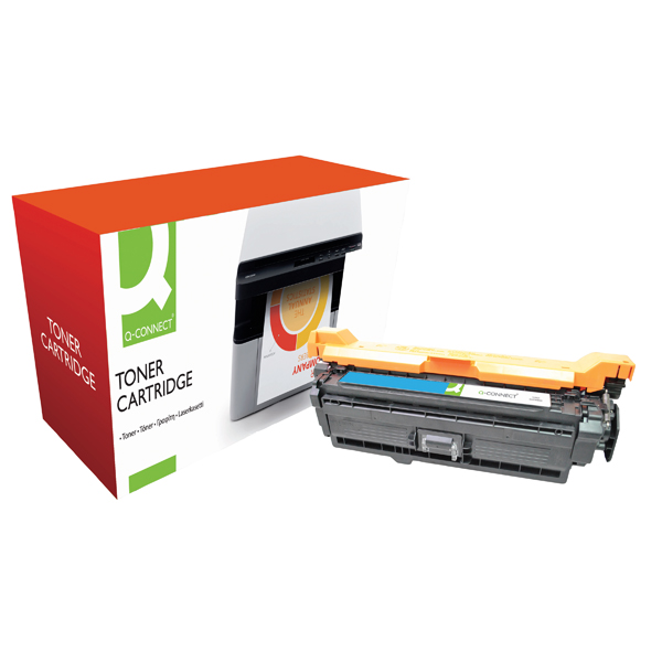 Q-Connect Compatible Solution HP 507A Cyan Laserjet Toner Cartridge CE401A