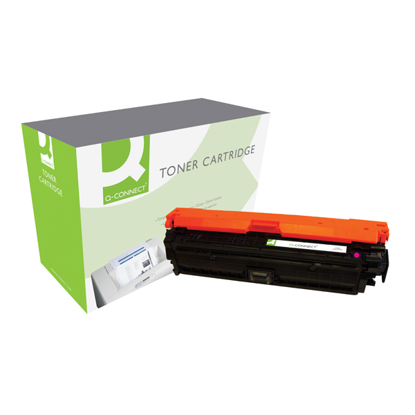 Q-Connect HP 307A Remanufactured Magenta Laserjet Toner Cartridge CE743A